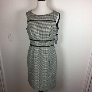 NWT Tahari Houndstooth Dress